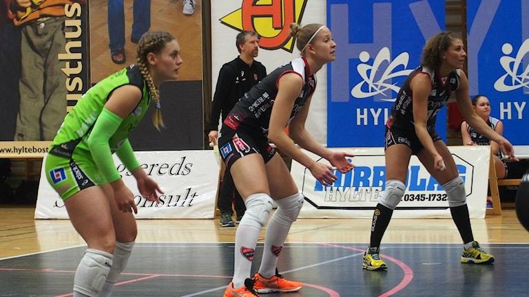 Hylte/Halmstad väntar på mottagning. Foto: Patric Ljunggren/Sveriges Radio