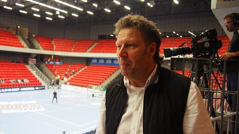 Drotts avgående klubbchef Ulf Månsson. Foto: Patric Ljunggren/Sveriges Radio