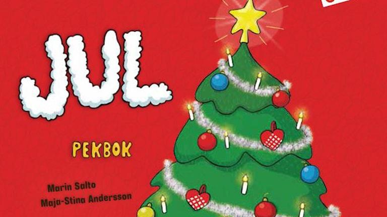 Pekbok om julen. Foto: Förlag Olika