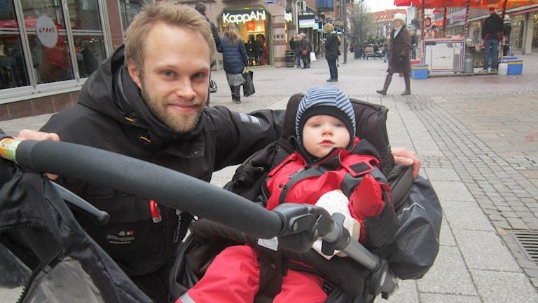Dan och Liv Gyllensvärd. Foto: Sveriges Radio.