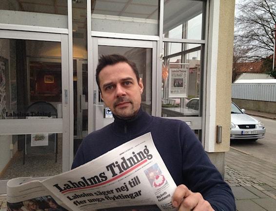 Lars Sjögren satsar på 7-dagarstidning. Foto: Johan Tollgerdt, Sveriges Radio