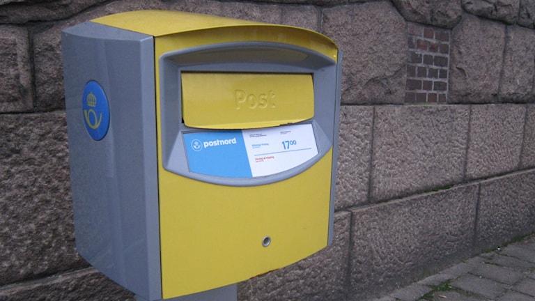 Inga fler räkningar i brevlådan. Foto: Sveriges Radio.