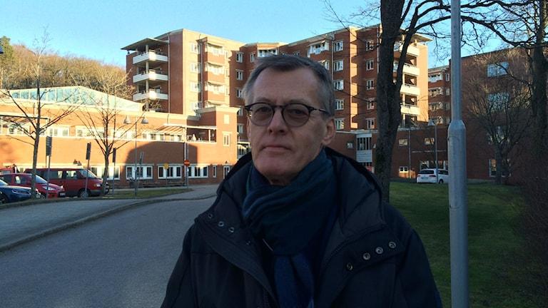 Mats Erntell, smittskyddsläkare i Halland. Foto: Elin Logara/Sveriges Radio