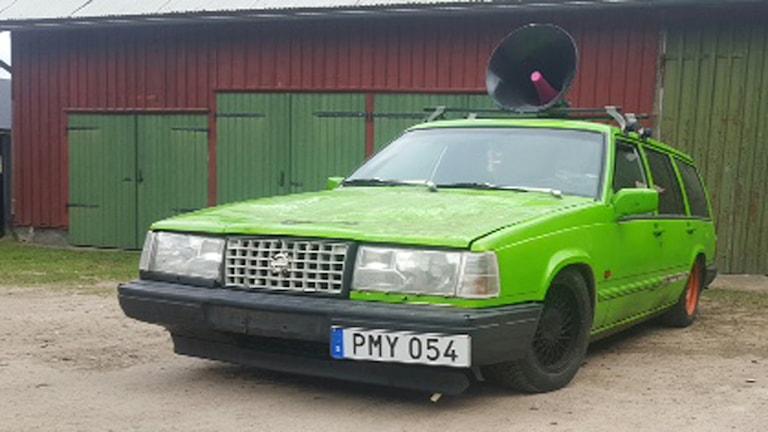 Hulken har lämnat Halmstad och nya ägaren finns i Kungsbacka. Foto: Privat