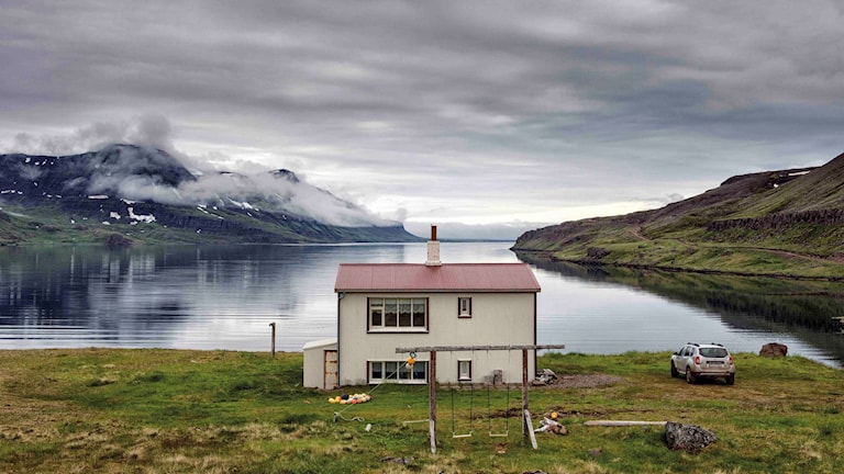 """""""Boken Island - på bakgator och villovägar"""" är gjord av Jonas Löfvendahl och Nicklas Elmrin, båda boende i Kungsbacka. Foto: Nicklas Elmrin"""