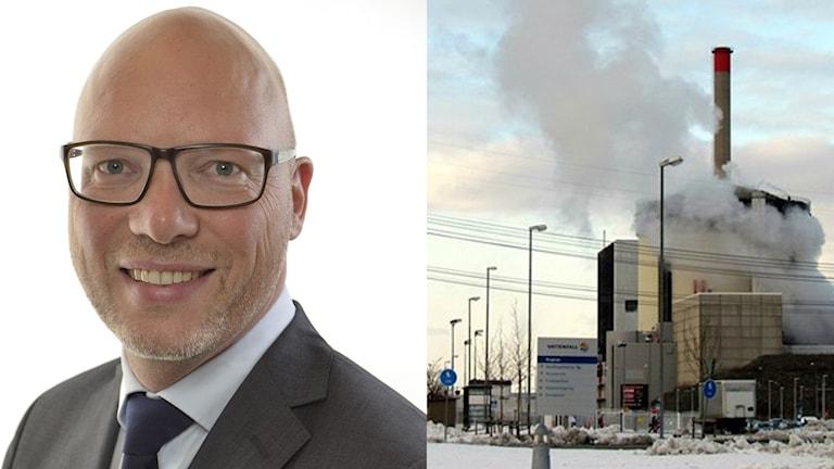 Jörgen Warborn vill veta vad regeringen gör för att förfindra att elförsörjningen och jobben hotas av en reaktorstängning. Foto: Sveriges Radio/Pressbild.