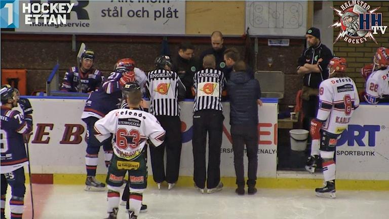 Arkivbild. Foto: Halmstad hockey.