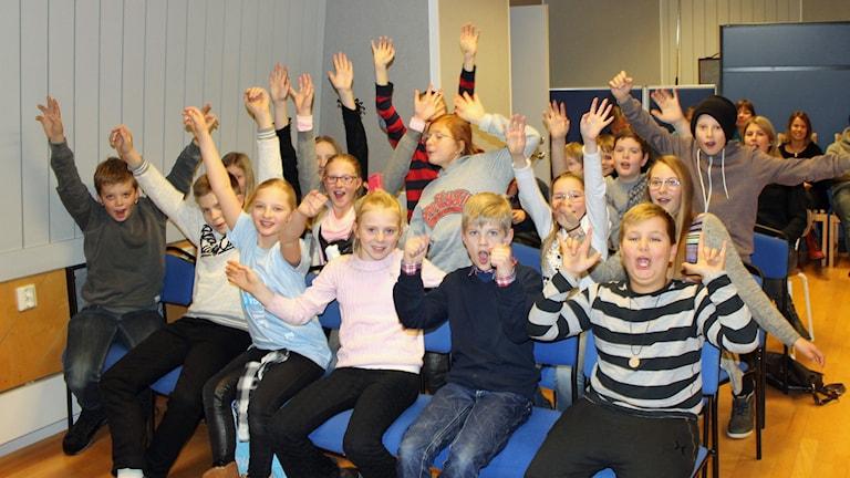 Nu drar Vi i femman igång! Foto: Karin Ingströmer/Sveriges Radio.