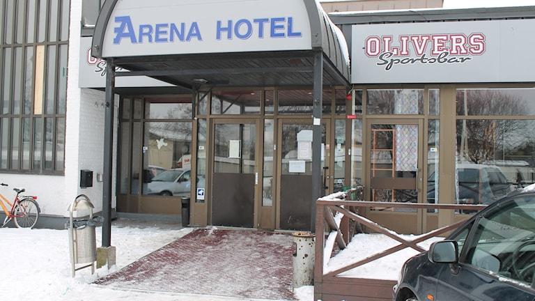 Arena hotell. Photo: Henrik Martinell/Sveriges Radio.