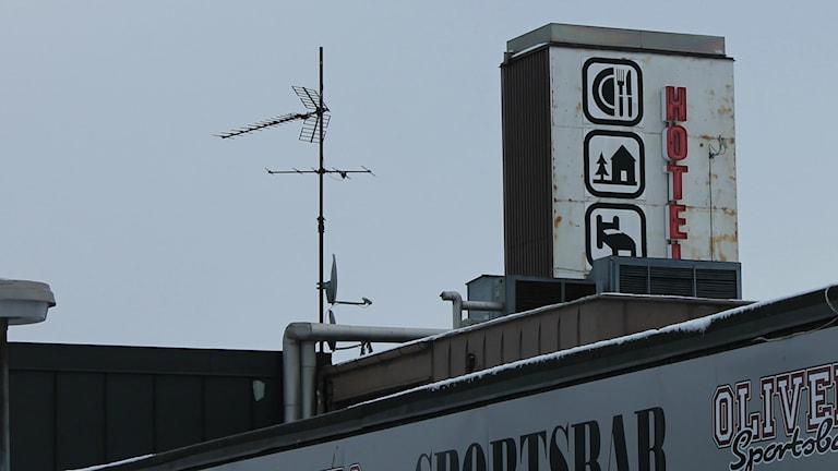 Arena hotell. Foto: Henrik Martinell/Sveriges Radio.
