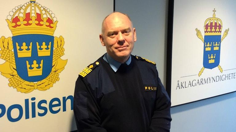 Polisområdeschefen i Halland Mats Palmgren