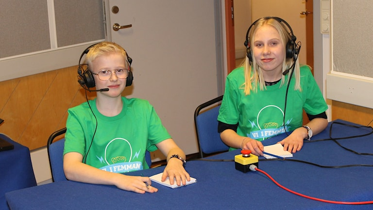 Tredje kvartsfinalen av Vi i femman i Halland. Foto: Sveriges Radio.