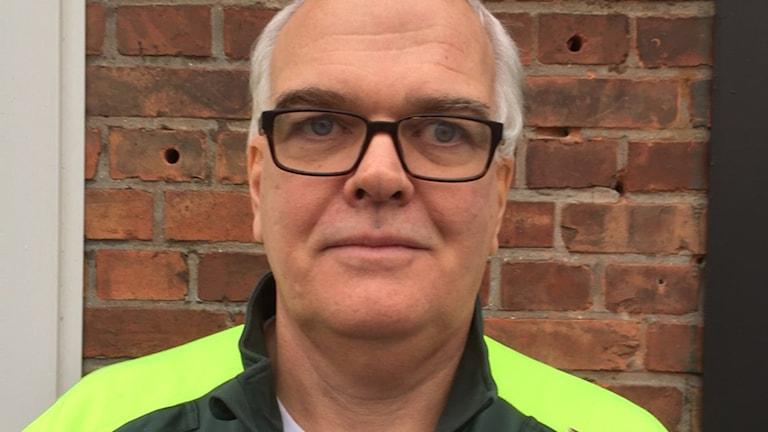 Ambulanssjuksköterskan Bengt Werner. Foto: Privat.