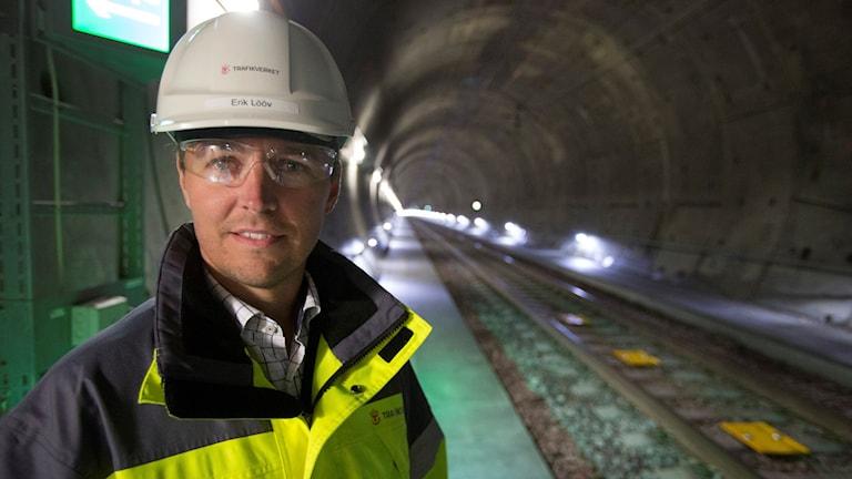 Erik Lööv, projektchef på Trafikverket. Foto: Stig-Åke Jönsson/TT.