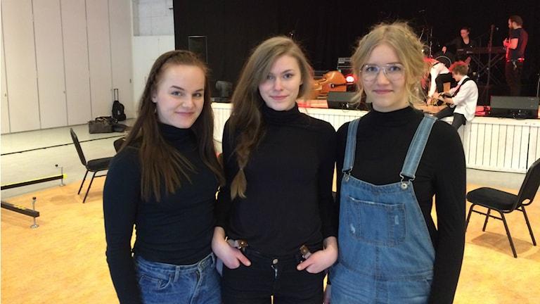 Malin Karlsson, Tilda Svensson och Mette Gerdle