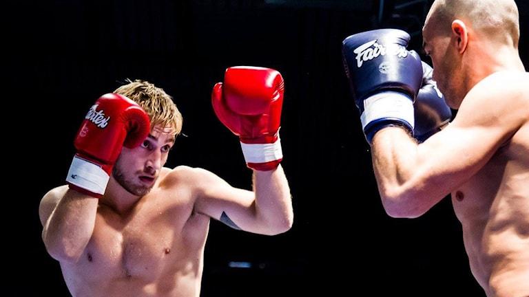 SM-guld i thaiboxning för Samuel Bark från Halmstad i 67-kilosklassen