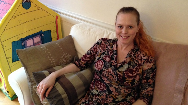 Charlotta Magnussons dröm om barn gick i uppfyllelse tack vare en inseminationsklinik i Danmark. Foto: Therése Alhult