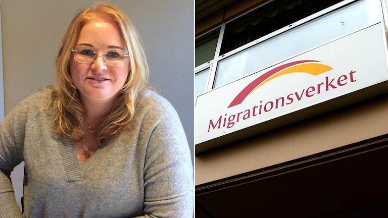 Advokaten Josefine Sjöstrand i Kungsbacka har det senaste året gått från att 20 procent av hennes mål är asylmål till nästan 80 procent.