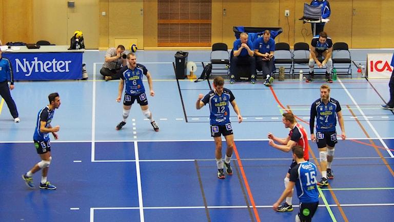 Falkenbergs volley. Foto: Patric Ljunggren/Sveriges Radio