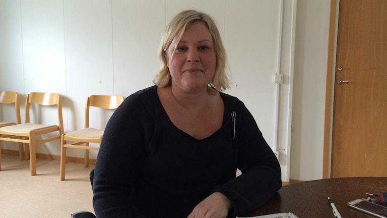 Ann Brorsson vice ordförande lärarförbundet i Varberg