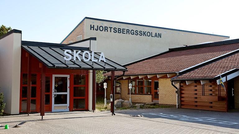 Hjortsbergsskolan. Foto: Falkenbergs kommun.
