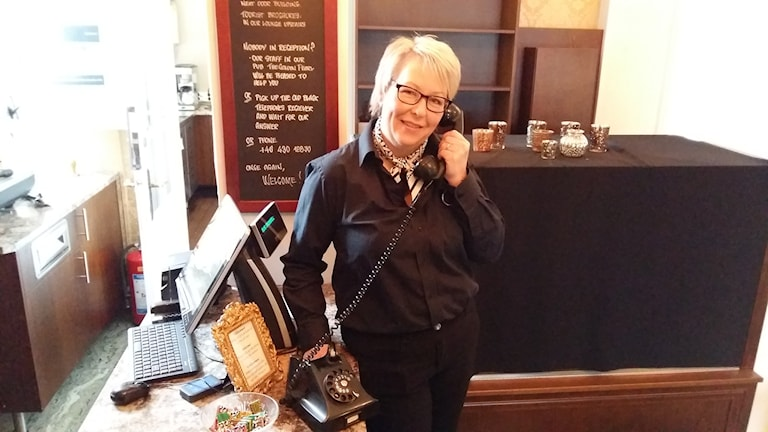 - Det vore bra med en turistchef, tycker Louise Johansson på Laholms Stadshotell
