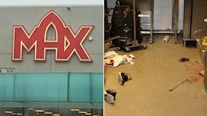 Två kvinnor skadades i samband med det brutala rånet på Max i Falkenberg. Foto: Sveriges Radio/Polisen.