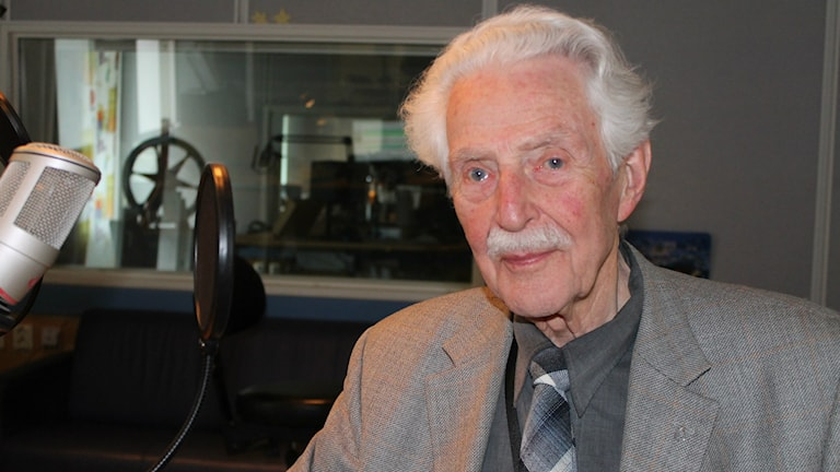 Tore Sjöblom, f.d kontraktsprost. Foto: Peter Bengtsson/Sveriges Radio