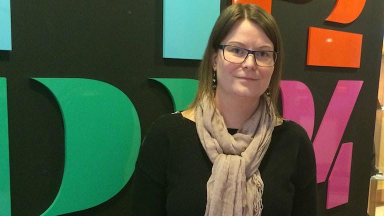 Erika Berggren, regionchef AlphaCe Halland.