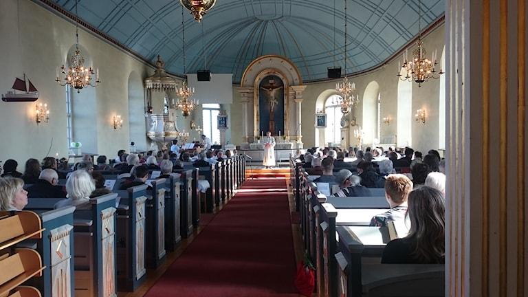 Träslövs kyrka svenska kyrkan annandagen