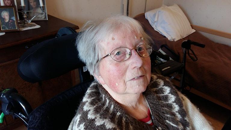 """""""Lissi"""" Elisabeth Andersson har både bott och arbetat på Almgården i Getinge"""