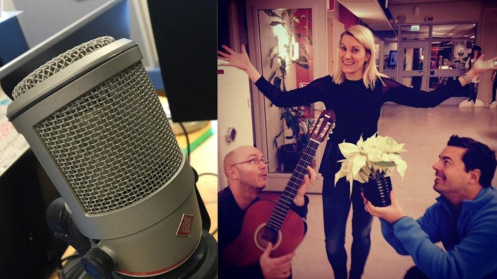 Morgongänget - Fredrik, Anna och Andreas drabbas av skrattattack