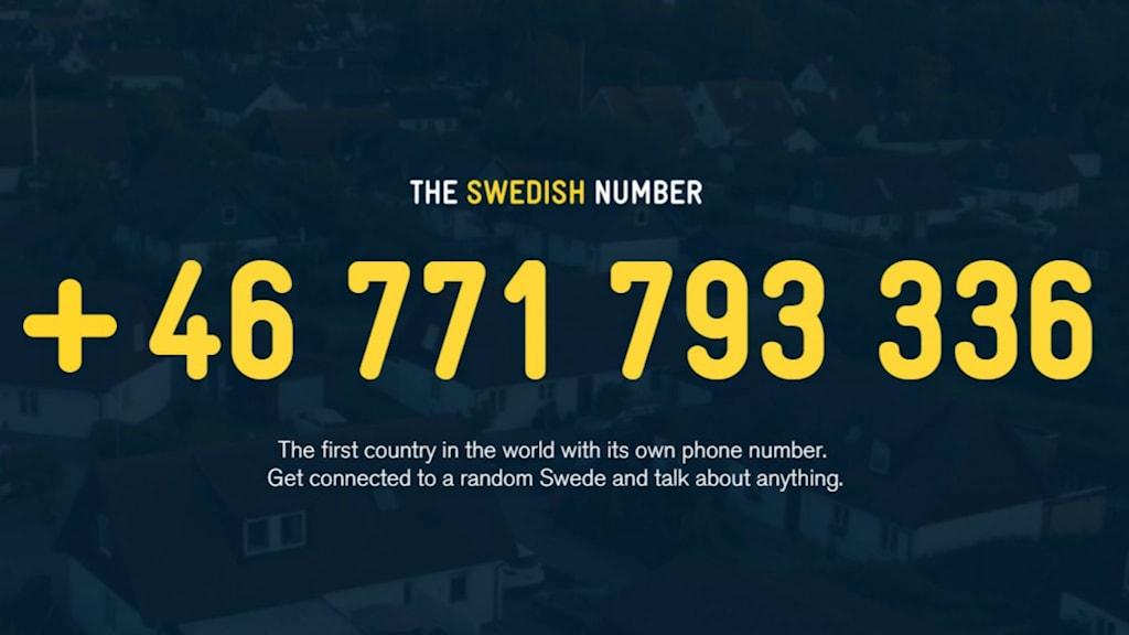 Sverigenumret som sammanför människor från utlandet med svenskar om ett samtal om vad som helst.