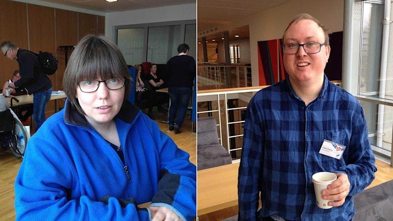 Föreningar hjälper, säger Veronique Hagström från Karlshamn och Krister Ekberg från Stockholm som har medverkat i studien.
