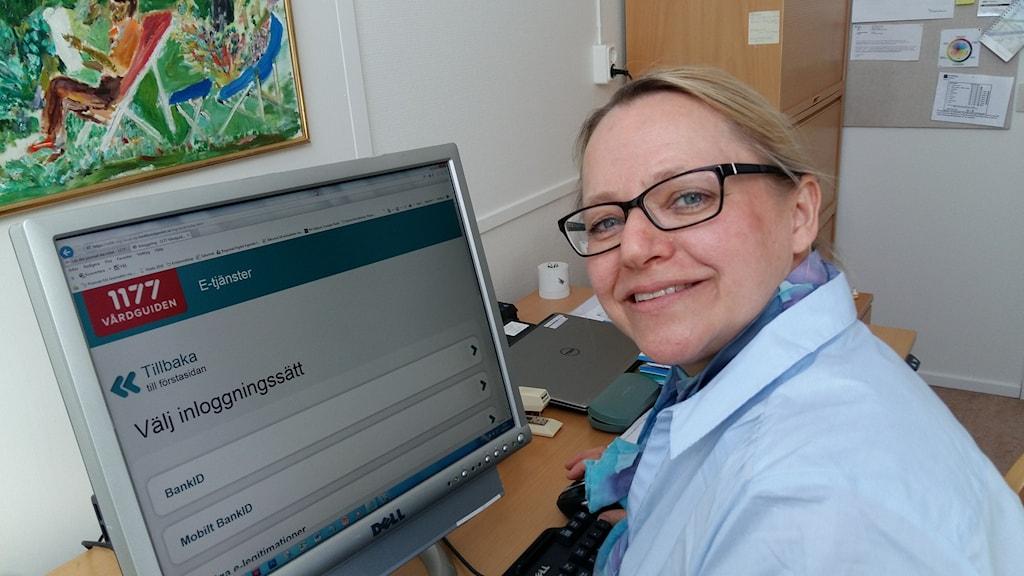 Maria Rothoff Lindh, kommunikatör på Region Halland.