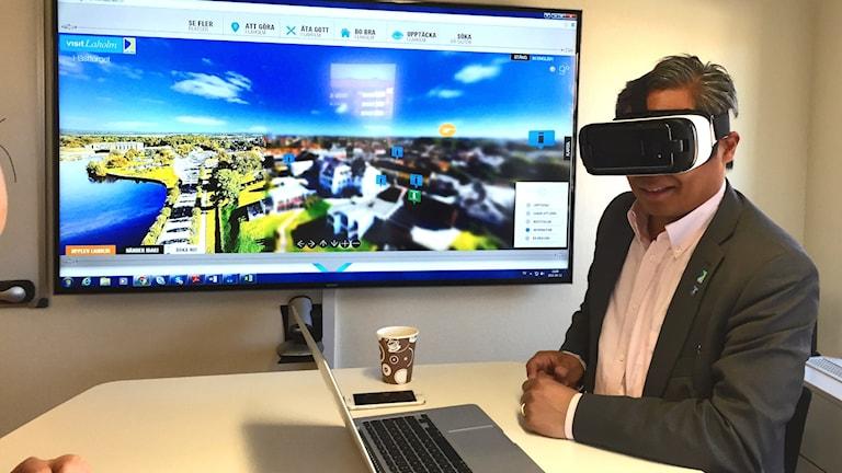 I sommar ska man kunna uppleva Laholm i Virtual reality