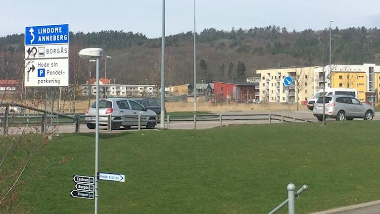 Anneberg är en av stadsdelarna där man planerar öka bostadsbyggandet.