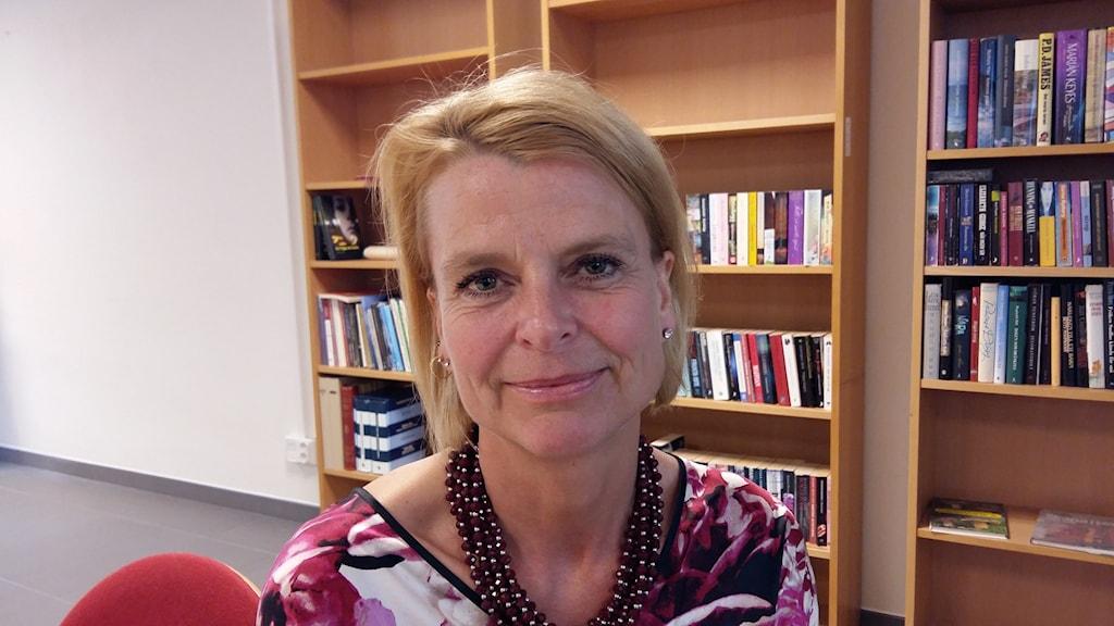Minister Åsa Regnér i Halmstad