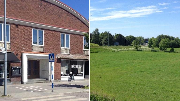 Halmstad moské hyr i dag en lokal på Fredsgatan i Halmstad, men vill köpa marken på Fyllinge för att bygga en ny moské.