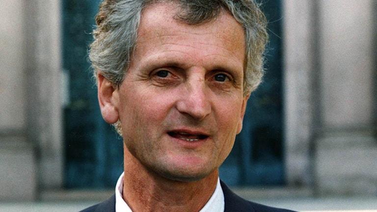 Bild från 1991. John Bouvin var riksdagsledamot för partiet Ny Demokrati och valdes 1997 till partiledare.