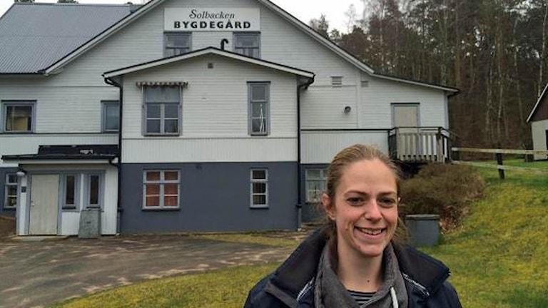 Angelica Gustafsson är ny ordförande i Edenberga bygdegård.