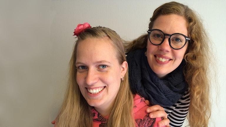 Caroline Arvidsson och Malin Norling