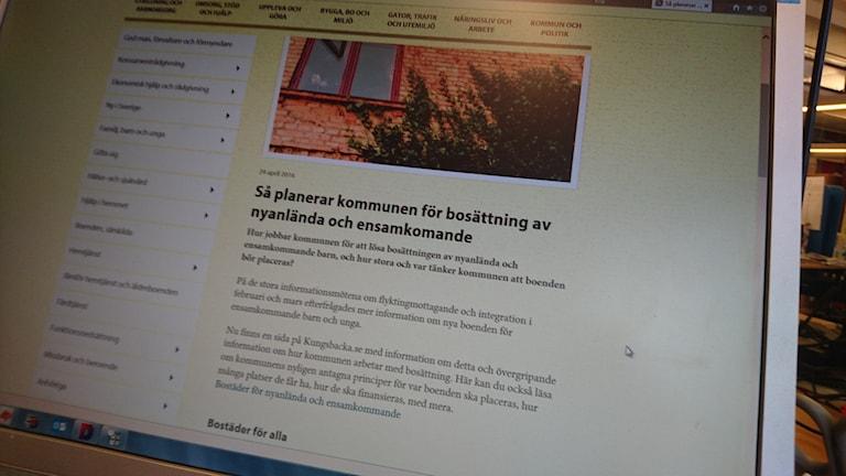 Från Kungsbacka kommun hemsida.