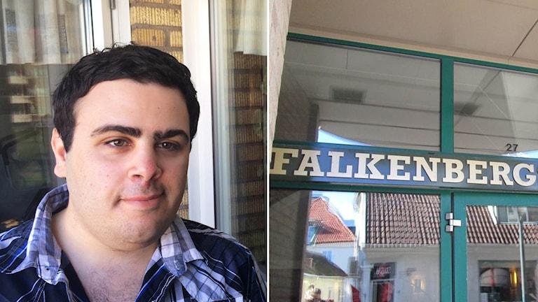 Elie Hachem får inga pengar av Falkenbergs kommun.