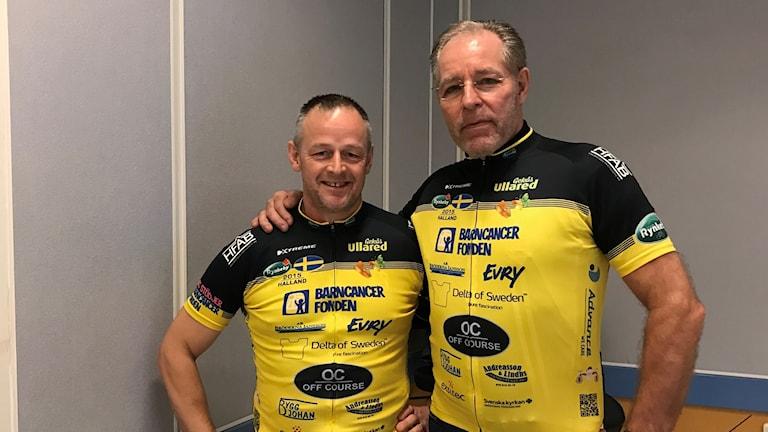 Mikael Josefsson och Lennart Hvid