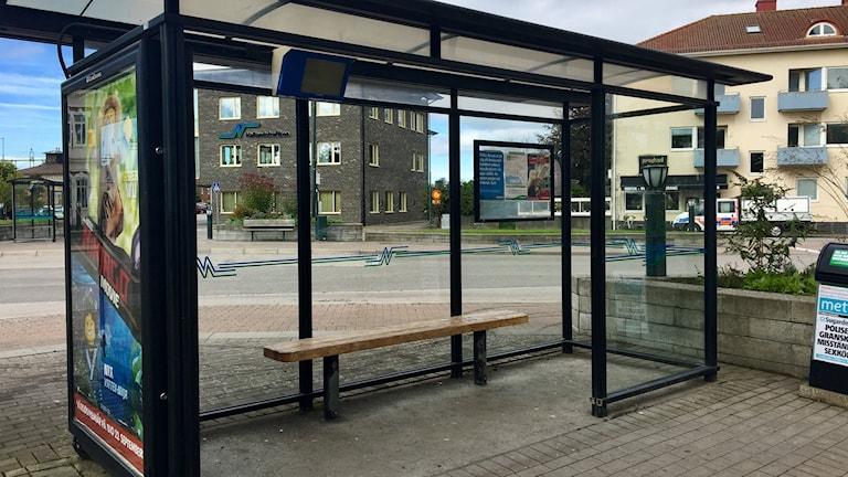 Busskur i Falkenberg