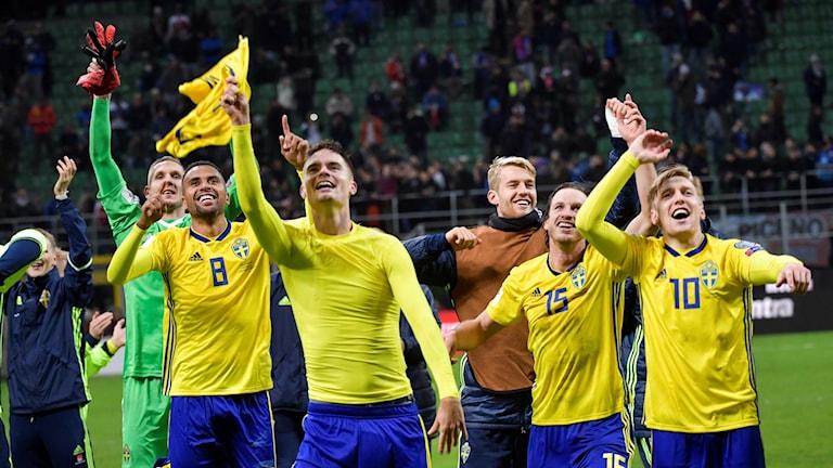 Svenska landslaget.
