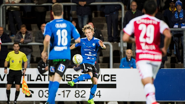 Arkivbild från matchen mellan HBK och Kalmar.