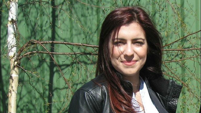Nour Ataia från Halland tävlar i SM i Poetry slam