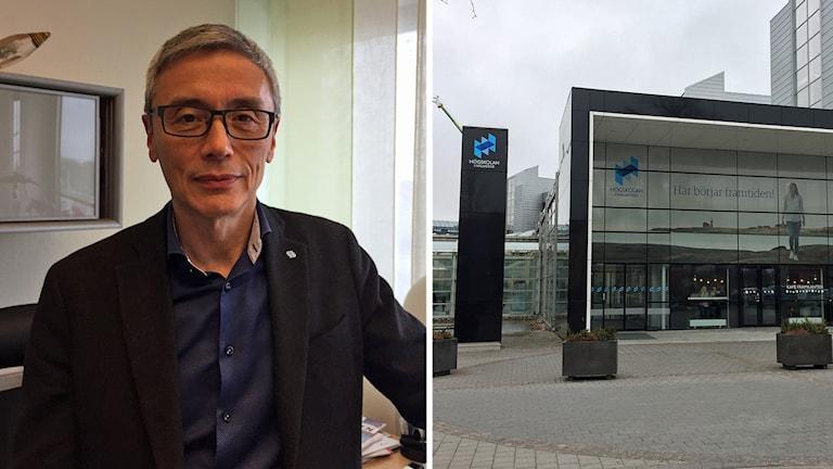 Stephen Hwang, rektor Högskolan i Halmstad.